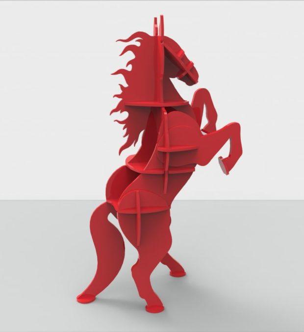 Конь на 2-х ногах