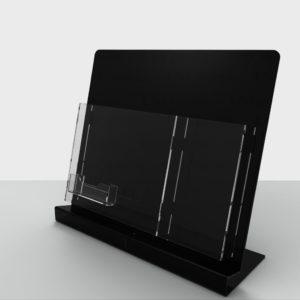 Буклетница А4 формата с еврофлаером