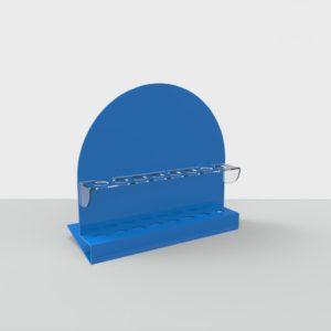 Подставка для косметики акриловая Отверстия 23 мм