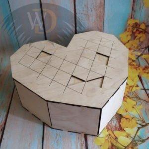Коробка в виде сердца ОР-23