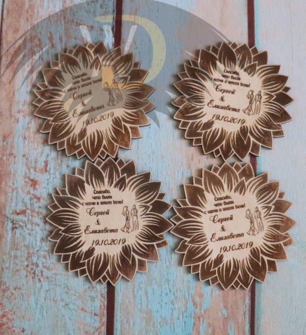Свадебные магниты СА-14