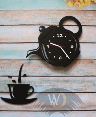 Часы чайник с чашкой Ч-22
