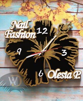 Часы- цветок Ч-35