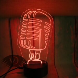 "Акрилайт-ночник ""Микрофон"" ПР-10"